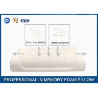 Wholesale Breathable Massage Latex Foam Rubber Pillow Sound Sleep Improving and Anti - Snoring from china suppliers