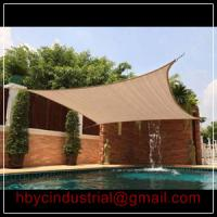 China SUN SAIL SHADE - SQUARE CANOPY COVER - OUTDOOR PATIO AWNING on sale
