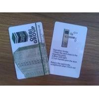 Wholesale 125KHz / 13.56MHz PVC blank plastic cards for access control long read range from china suppliers