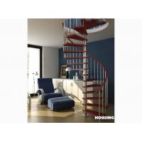 Wholesale Classical Custom Spiral Staircases with Solid Wood Steps from china suppliers