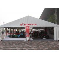 Wholesale Waterproof Giant A Frame Tent Trade Show Tents , Sand White Outdoor Exhibition Tents from china suppliers