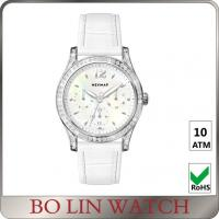 Wholesale IPS Women'S Leather Strap Watches , Two Tone Large Face Ladies Watch from china suppliers