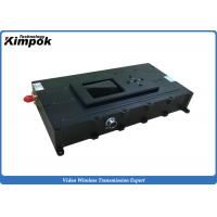 Wholesale UAV / UGV  COFDM Video Transmitter 5000mW Power For Long Distance Transmission from china suppliers