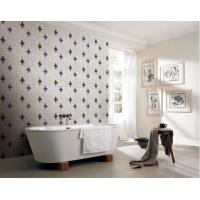 Buy cheap Wall decoration bathroom mosaic design recycled glass mosaic pattern from wholesalers