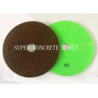 Wholesale 180mm Hybrid Flex Dry Concrete Polishing Pads from china suppliers