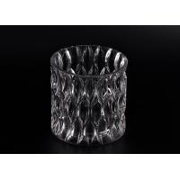Wholesale 36OZ Large Wax Luxury Glass Votive Candle Holders With Pattern from china suppliers