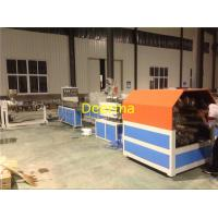 Wholesale 63mm Braided Hose PVC Pipe Extrusion Line , Plastic Pipe Manufacturing Plant from china suppliers