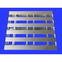 Buy cheap Heavy Duty Aluminum Pallets For Workshop / Supermarket 4-Way Entry Type from wholesalers