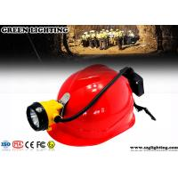 Wholesale 15000 Lux Led Miners Cap Lamp , 6.8AH Customized Semi - Corded Led Mining Lamp  from china suppliers