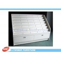 Wholesale White OEM MDF Advertisement Display Stands / 1700mm * 650mm * 1200mm from china suppliers