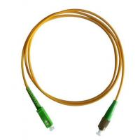 Wholesale FC/APC-SC/APC 9/125 Simplex Fiber Optic Patch Cord from china suppliers