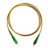 Buy cheap FC/APC-SC/APC 9/125 Simplex Fiber Optic Patch Cord from wholesalers