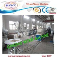 Wholesale PVC edge band plastic extruder machine line with Online Embossing and printing from china suppliers