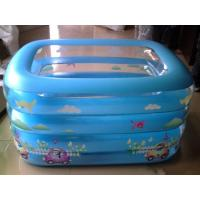 Wholesale Multifunctional Safety Children Rainbow Kids Inflatable Swimming Pool Durable from china suppliers