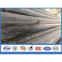Wholesale Polygonal galvanized tubular steel power pole , metal telephone pole Diameter As request from china suppliers