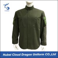 Wholesale Wrinkle - Resistant Military Style Shirts 65% Polyester With 2 Tilted Chest Pockets from china suppliers