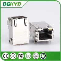 Wholesale 25.4mm 10/100BASE Single port Tap Up rj45 Modular Jack, telecom connector from china suppliers