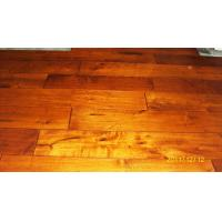 Wholesale Maple Solid Flooring handscraped and Distressed Surface from china suppliers