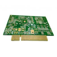 Wholesale 6 Layers Custom Printed Circuit Board High TG FR4 Multilayer PCB With Golden Finger from china suppliers