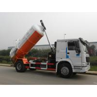 Wholesale EURO II 6M3 290hp howo Sewage Suction Truck , Pump Speed 500r / min from china suppliers