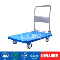 Buy cheap 200 - 250Kg Loading Platform Hand Trolley / flatbed hand truck from wholesalers