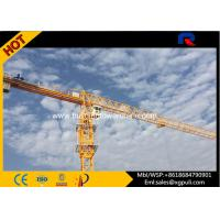 Wholesale 45M Freestanding Height 8T Flat Head Topless Tower Crane Jib Length 55M from china suppliers