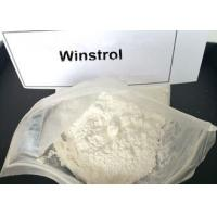 Wholesale Legal Winstrol Stanozolol Weight Loss Steroids / Fat Burner Powder For Men 10418-03-8 from china suppliers