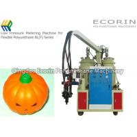 Quality 6 - 15 Kw Polyurethane Molding Machine For Soft Pumpkin Head Toy Maker for sale