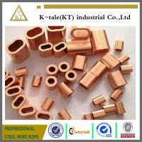 Wholesale COPPER WIRE ROPE FERRULES from china suppliers