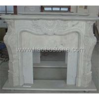 Wholesale Granite marble ,natural stone fireplace mantel 1-056 from china suppliers