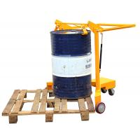 Wholesale 180mm rotating Mechanical Forklift Drum Lifter With Hoop Structure from china suppliers