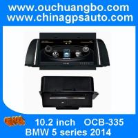 Wholesale Ouchuangbo Car DVD GPS navi Radio Player for BMW 5 series 2014 S100 USB SD AUX swc SD MP3 from china suppliers