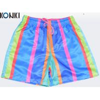 Buy cheap OEM Sublimation Multi Colors Custom Pants Swim Shorts / Beach Shorts For Skate Surf from wholesalers
