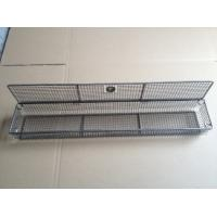 Wholesale Custom Made Stainless Steel Woven Wire Mesh Basket Design For Any Kitchen Sink from china suppliers