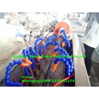 Wholesale Italy Running Hydraulic Hose Protective Sheath PE Spiral Wrapping Band Production Line from china suppliers