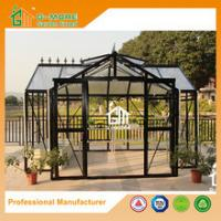 Wholesale G-MORE High-quality Extra Heavy Duty Classic English Style Easy DIY Orangery Aluminium Greenhouse from china suppliers