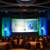 Wholesale P2.5 Conference HD LED Display Screen / Indoor LED Video Wall with Super Light Cabinet from china suppliers