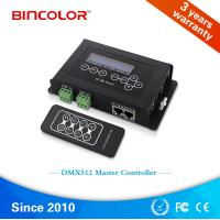 Wholesale DMX Master Controller for dmx512 lighting led chase controller, DMX RGB pixel light led controller from china suppliers