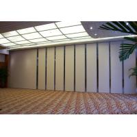 Buy cheap Retractable Temporary Sliding Operable Sound Proof Partition Walls from wholesalers
