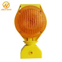 Wholesale High Visible Led Solar Flashing Roadside Warning Light for Construction ,Over 500 meter Visual Distance from china suppliers