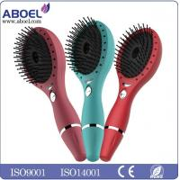 Wholesale Rechargeable Women Ionic Hair Comb , Vibrating Hair Salon Comb from china suppliers
