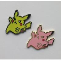 Wholesale Lovely Pokemon Pikachu Hard Enamel Pin Badge For Children Gifts Handmade from china suppliers