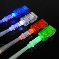 Wholesale Multi-Color LED Party Light Finger with Flashing Laser Beam Torch Ring (4 Piece Pack) from china suppliers