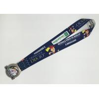 Wholesale Good-looking Custom Dye Sublimation Lanyards with medal For school from china suppliers