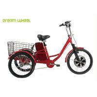 Wholesale Pedals Assisted Electric Mobility Scooter , Electric Cargo Trike 36V 350W Motor from china suppliers