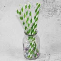 Wholesale 220mm 250mm longth orange blue  color Wholesale Biodegradable Paper Drinking Straws for Party from china suppliers