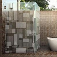Wholesale Etched/Shower Enclosure Glass with Frosted Pattern, Partition from china suppliers