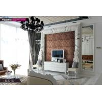 Quality pvc interior decorative wall panels with Imitation new style manufactured home for sale
