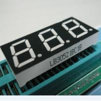 Wholesale 5 Inch 3 Digit Outdoor 7 Segment LED Display For Thermostate , Humidity Controller from china suppliers