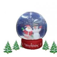 Buy cheap christmas inflatable, inflatable christmas decoration from wholesalers